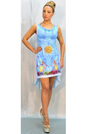 (261) ΔΙΣΚΟΣ ΤΗΣ ΦΑΙΣΤΟΥ Φόρεμα Ντραπέ